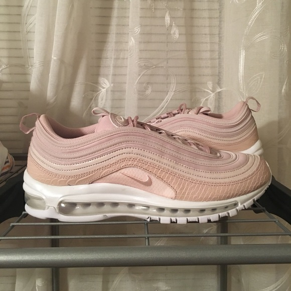 """reputable site 51f67 cdd59 Air max 97 PRM """"Pink Snakeskin"""" Wmns 11 Mens 9 New"""